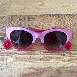 Monroe Wildfox Pink Glasses **NEVER WORN**